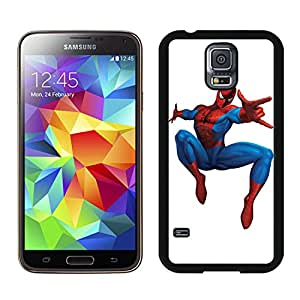 Beautiful Designed Cover Case With Spider man Samsung Galaxy S5 Black Phone Case T1