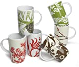 Cheap Rosanna Boho Mugs, Set of 6