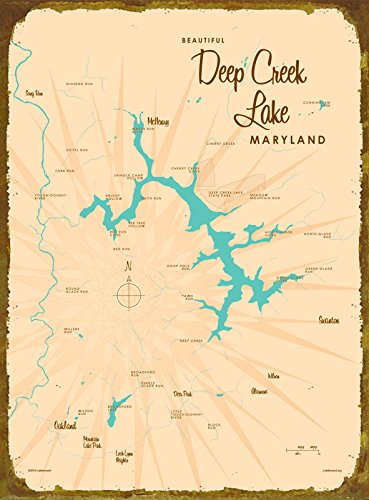 deep-creek-lake-md-map-wood-sign