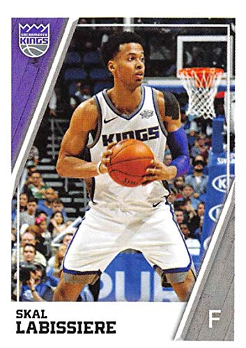 6403c8310e5 Amazon.com  2018-19 Panini NBA Stickers Collection  373 Skal Labissiere  Sacramento Kings Official Basketball Sticker (2 in x 2.75 in)  Collectibles    Fine ...