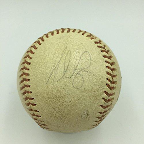 Nolan Ball Ryan (Rare 1976 Nolan Ryan Signed Game Used Baseball California Angels With JSA COA)