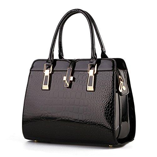 Ruiren Epaule Noir À Shopper Sac Femmes Main Bandoulière Pour Messenger Bag Les HHrqT5wP
