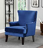 Overstock Zofia Arm Chair, Blue