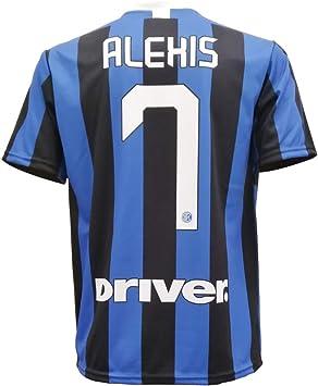 L.C. SPORT SRL Camiseta de Fútbol Alexis Sanchez 7 F.C. Inter Internazionale Serie A Temporada 2019-2020 Replica Oficial con Licencia - Todos Los Tamaños NIÑO y Adulto: Amazon.es: Deportes y aire libre