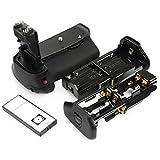 DSTE® Pro IR Remote BG-E9 Vertical Battery Grip for Canon EOS 60D 60Da SLR Digital Camera as LP-E6 LP-E6N