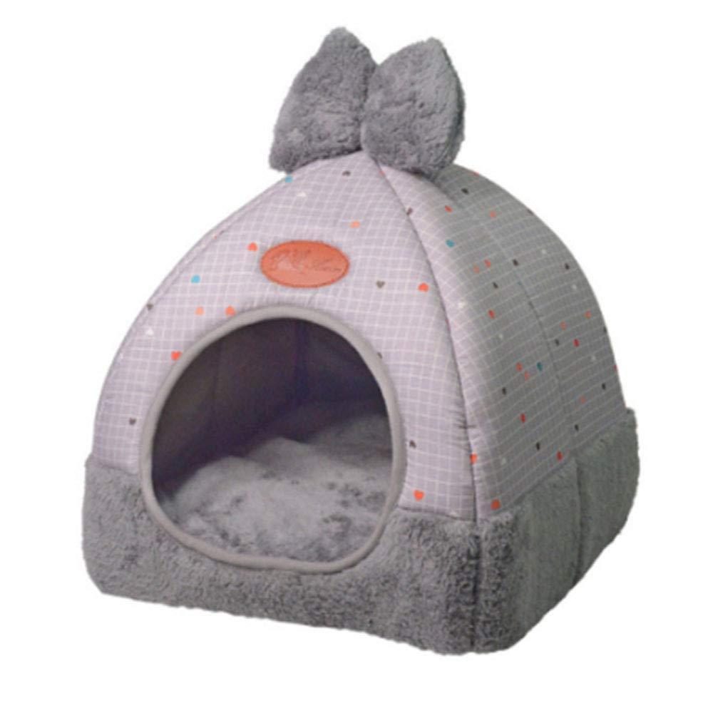B SmallPet Dog Bed, Sofa Warming Dog House Soft Dog Nest One Litter Dual Use Washable Four Seasons Universal,E,XL