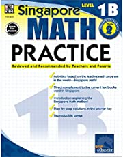 Singapore Math – Level 1B Math Practice Workbook for 1st, 2nd Grade, Paperback, Ages 7–8 with Answer Key