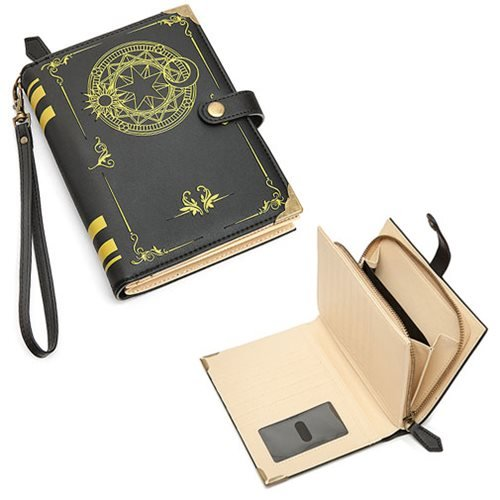 ThinkGeek Black Magic Spell-Book Billfold Wallet