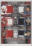 Steve Yzerman; Igor Larionov; Nicklas Lidstrom; Dale Hunter; Olaf Kolzig; Adam Oates (Hockey Card) 2012-13 In the Game Motown Madness - Battle for the Cup - Red #BFC-04