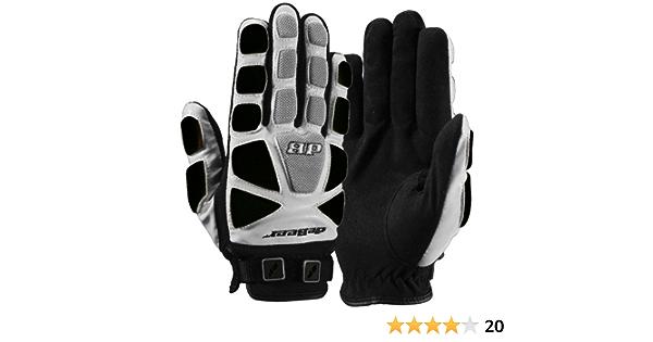 deBeer Womens Lacrosse Response Gloves Black Medium