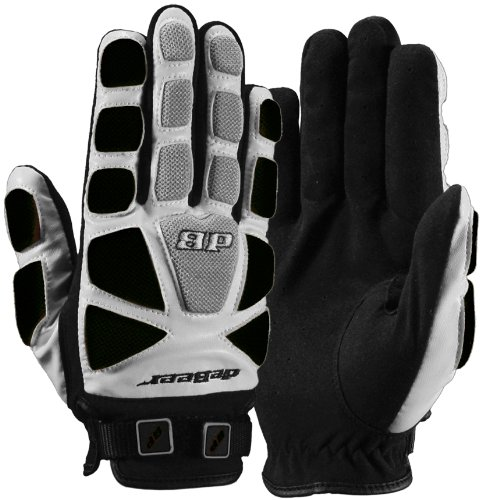 Debeer Lacrosse Tempest Glove (Black, X-Small )