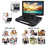 "FANGOR 10.1"" Portable Blu-Ray DVD Player with"