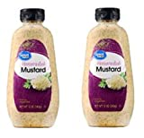 Kosher Great Value Horseradish Mustard, 12 oz (Pack of 2) Gluten-free.