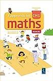 J'apprends les maths CM1 manuel + cahier