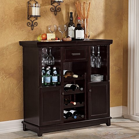 Tuscan Expandable Wine Bar (Wine Cabinet)