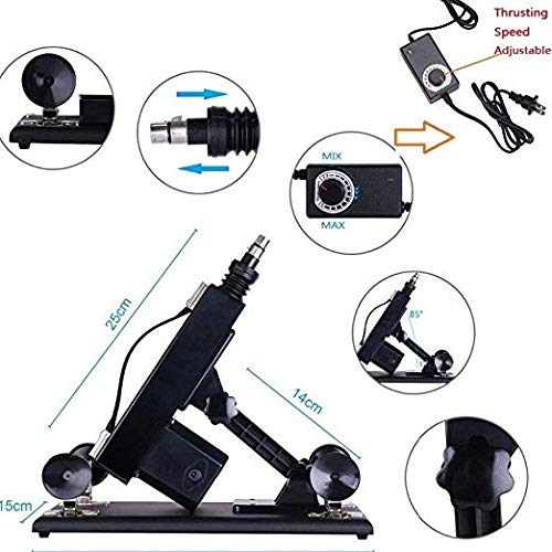 Retractable Women Massage Parts Adult Machine Gun with Strong Power Motor by MachineGuns (Image #6)