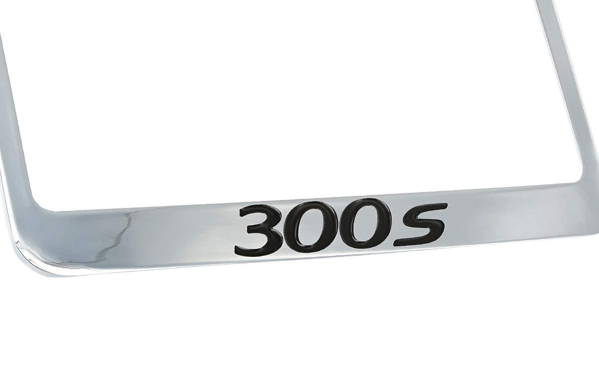 Chrysler 300s Chrome Plated Metal License Plate Frame Tag Holder