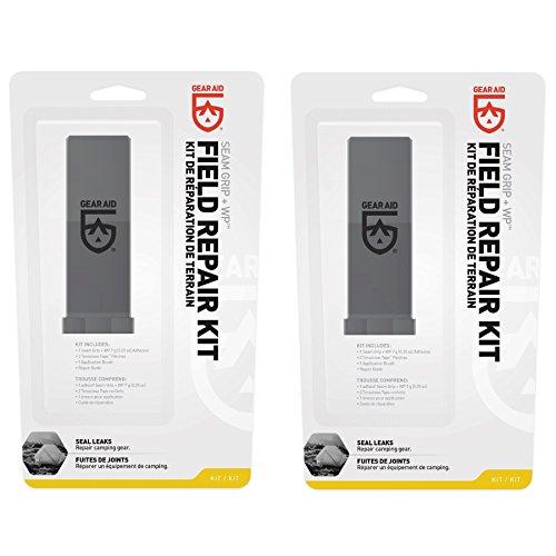 McNett Gear Aid Seam Grip Field Repair Kit w/Tenacious Tape Patches (2-Pack) by Gear Aid