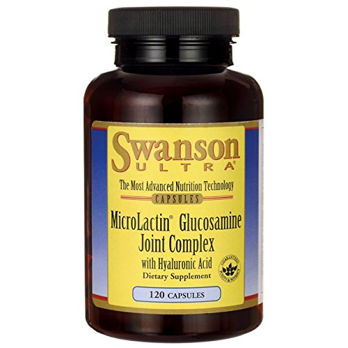Joint Complex Ultra (Swanson Microlactin Glucosamine Joint Complex with Hyaluronic Acid 120 Caps)