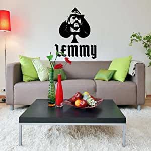 Lemmy Motorhead Vinilo Pared Arte Decal Hogar