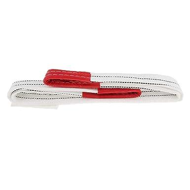 Corde en Fibre 3 Tonnes Capacit/é 1 m/ètre Homyl /Élingue de Levage Plate Remorquage Tirant Sangle