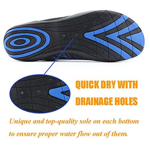 Socks for Women for Water Pool Summer Men Quick Barefoot Dry Outdoor VILISUN Beach Aqua blue Swim V Yoga Shoes Surf Fgw8qzWTZ