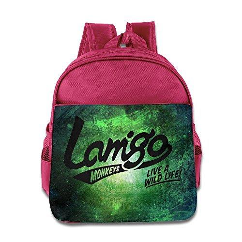 MEGGE Lamigo Monkeys Funny Lunch Bags Pink