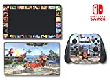 SSBU Super Smash Bros Ultimate Brother Video Game Vinyl Decal Skin Sticker Cover for Nintendo Switch Console System