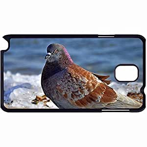 New Style Customized Back Cover Case For Samsung Galaxy Note 3 Hardshell Case, Back Cover Design Bird Personalized Unique Case For Samsung Note 3