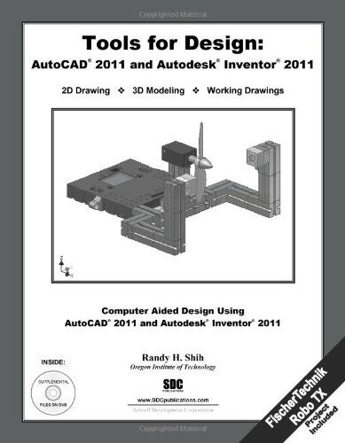 Tools for Design with FisherTechnik: AutoCAD 2011 and Autodesk Inventor 2011