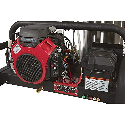 - NorthStar Gas-Powered Hot Water Pressure Washer Skid - 4000 PSI, 4.0 GPM, Honda Engine - Buy ...