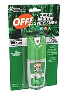 Profundo Bosque Off. Para los deportistas repelente de insectos I, Pump spray, 100% DEET 1FL OZ, 1Pk