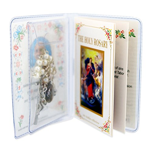 - One Decade Pope Francis Rosary with Booklet