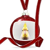 Christmas Decoration Low Poly Animals Modern design Cockatiel Ornament