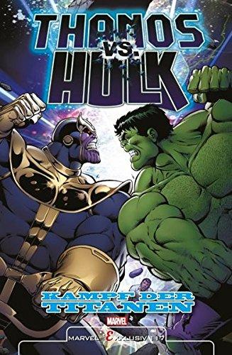 Thanos vs. Hulk: Kampf der Titanen