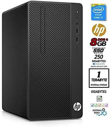 Desktop HP MTower SSD, CPU Intel Core I7 Quad Core hasta 4,2 GHz ...