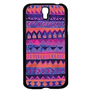 Colorful Pink and Purple Tribal Pattern Hard Snap on Phone Case (Galaxy s4 IV)