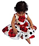 Polka Dot Girls Dress w/ Matching Headband - Baby Girl and Toddler Outfit
