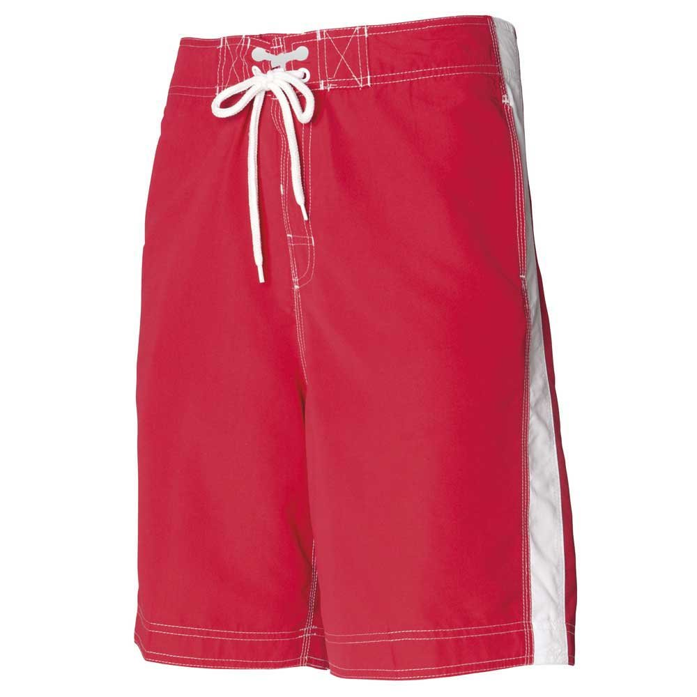Front Row Men's Casual Beach Stripe Board Shorts Mens