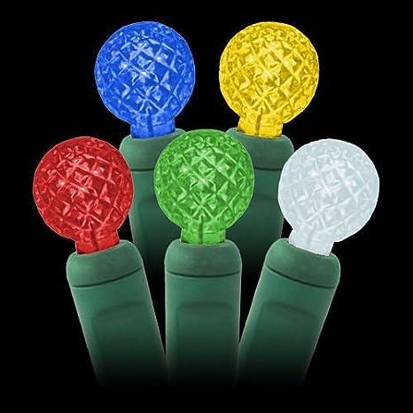 g12 multi color led string lights 25ft 50bulbs g12 berry christmas lights raspberry
