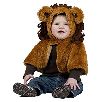 Kostumplanet Lowen Kostum Cape Fur Kinder Baby Kostum Kinderkostum