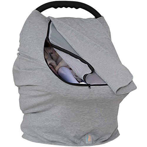 Baby Moft Car Seat Canopy Covers for Girls and Boys| Nursing