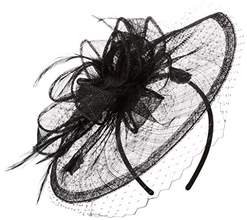 san-diego-hat-company-womens-fasninator-hat-with-curled-bow-and-feathers-black-one-size