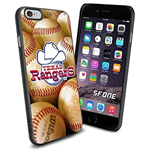 MLB, Texas Rangers Baseball Cool iPhone 5C Smartphone Case Cover Collector iPhone TPU Rubber Case Black