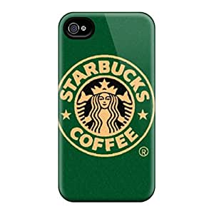 Durable Hard Phone Case For Iphone 6plus (fsP19167RSbF) Allow Personal Design Nice Starbucks Series