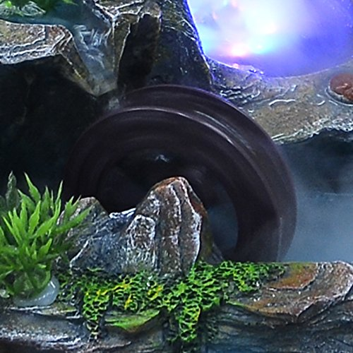 Bonsai decoration Feng Shui luck rockery and pond water fountain humidifier living room home furnishings by ZEM-PXD (Image #3)