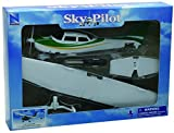 NewRay 1:42 Cessna 172 Skyhawk with Wheel Diecast Aircraft
