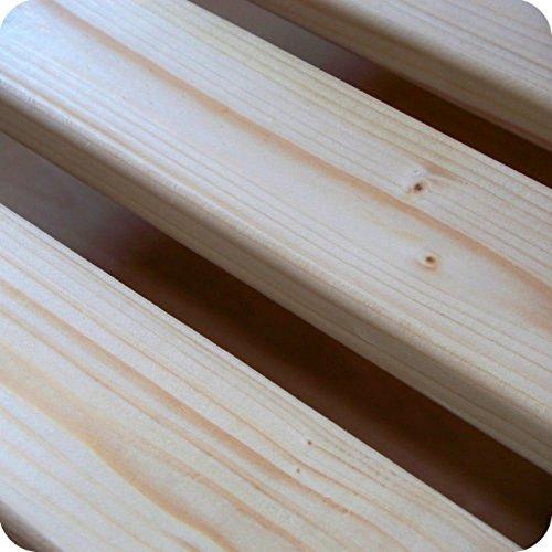 TUGA-Holztech 20mm Rollrost Rolllattenrost 140x200cm bis 200KG Flächenlast