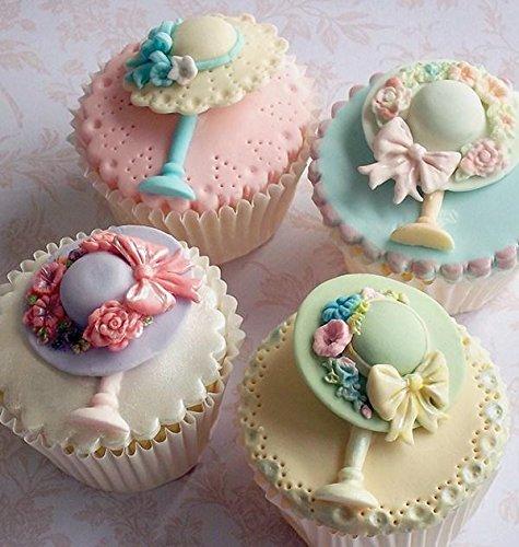 Katy Sue Designs Moule en silicone pour décoration de gâteau Motif chapeau