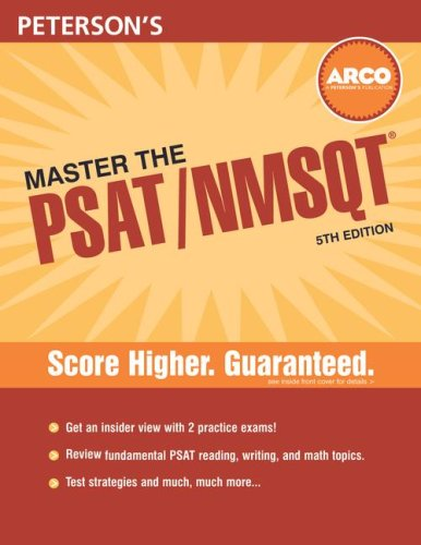 Master the PSAT/NMSQT, 5th Edition